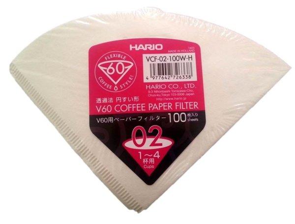 Хартиени филтри за HARIO V60 1-4 чаши